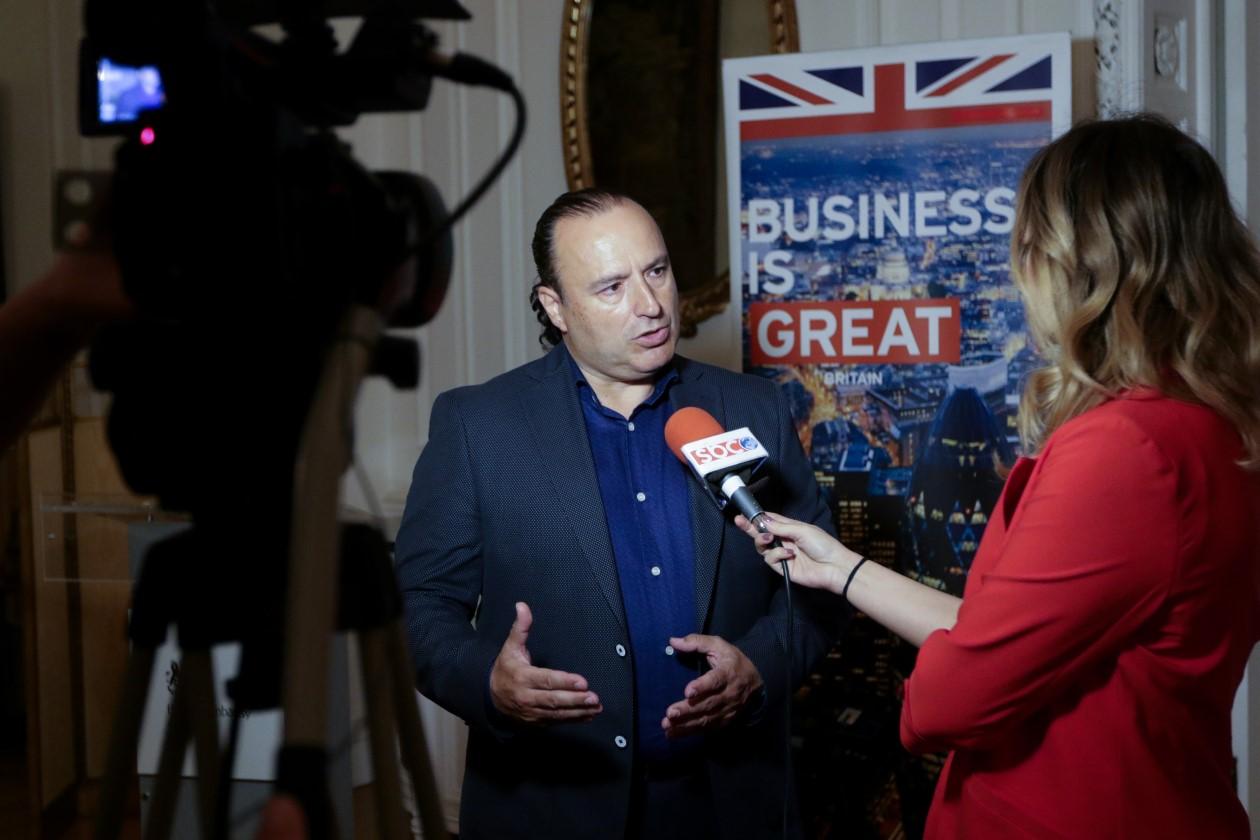 """Το κανάλι SBC παρουσίασε το Adus Executive Business Event με θέμα """"Outsourcing Services Model for Sales Growth"""", στη Βρετανική Πρεσβευτική Κατοικία"""