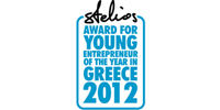 Stelios Award for Young Enterpreneur of the Year in Greece 2012