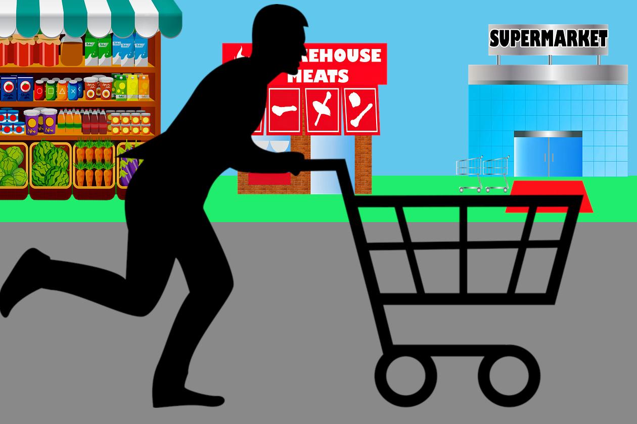 Κινητικός ο Έλληνας καταναλωτής, αγοράζει τρόφιμα από πολλά διαφορετικά σημεία πώλησης.